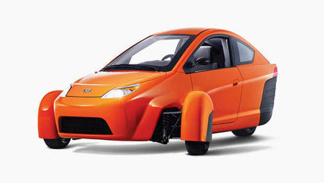 This Three-Wheeled Car Costs Just $6,800 And Goes 672 Miles On A Tank Of Gas   iThinks and the Making Movement   Scoop.it