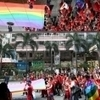 Turnout doubles for gay pride march | Gay themed stuff I find interesting | Scoop.it