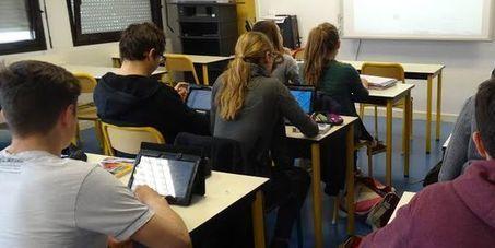 Tablettes et cours inversés, équation gagnante dans un lycée pilote | Médias, Numérique et Pédagogie | Scoop.it