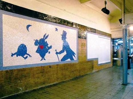The Art on the Subway Walls | Public Art in New York City | Scoop.it