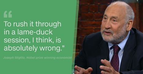 Nobel prize winning economist Joseph Stiglitz calls TPP 'outrageous' | For reading | Scoop.it