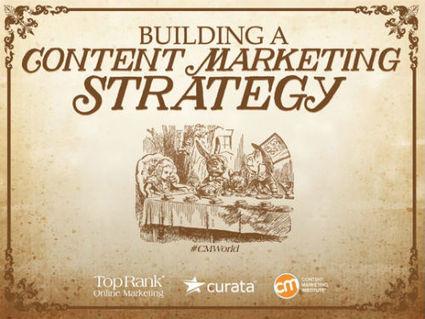 Building A Content Marketing Strategy – New #CMWorld eBook | pilladoporlared | Scoop.it