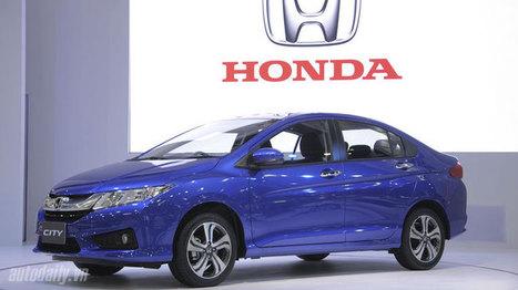 Honda trình làng City 2014, trang bị 6 túi khí | Tin tức ô tô xe máy | Scoop.it