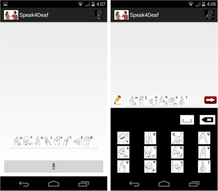 Speak4Deaf App | What's new in Visual Communication? | Scoop.it