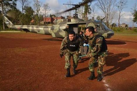 CNA: Si con el PARAMILITARISMO le basta y sobra pá someter pueblos - El Porqué de las Bases Militares de EEUU en Argentina - | La R-Evolución de ARMAK | Scoop.it