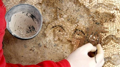 Restauradores recuperan el Mosaico de Medusa de Itálica, de finales del siglo II d.C. | LVDVS CHIRONIS 3.0 | Scoop.it