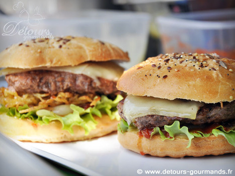 Restaurants - Food truck - Frenchy's burger - Tours (37) | Les bonnes tables en Touraine | Scoop.it