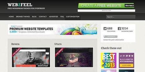 Ou trouver des Thèmes Wordpress Gratuits ? | Wordpress pour les noobs comme moi | Scoop.it