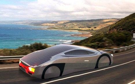 Première mondiale : cette voiture fonctionnant à l'énergie solaire a été conçue pour rouler indéfiniment ! | SandyPims | Scoop.it