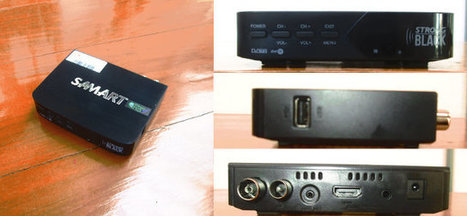 """A Quick Look at SAMART Strong Black """"Free"""" DVB-T2 Receiver in Thailand   Embedded Systems News   Scoop.it"""