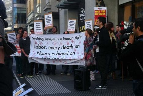 Protests call for new asylum policy to be dumped | Australian Governments asylum seekers policies create protest | Scoop.it