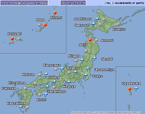 [Météo] Ciel triste, terre trémulante | Japon : séisme, tsunami & conséquences | Scoop.it