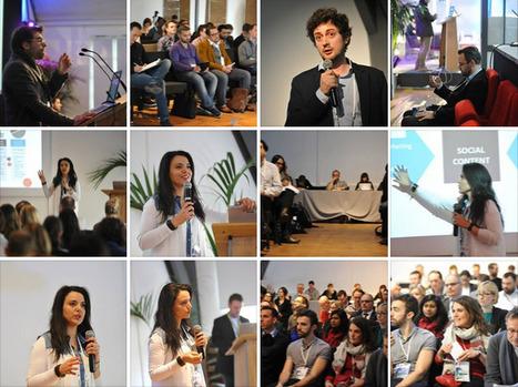 [Mars 2014] Intervention sur Les médias sociaux en 2015  SEO Camp'us Paris 2015   Mounira Hamdi   Scoop.it