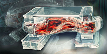 Researchers Create Walking, Muscle-Powered Biobots | TechCrunch | Creatitvity | Scoop.it