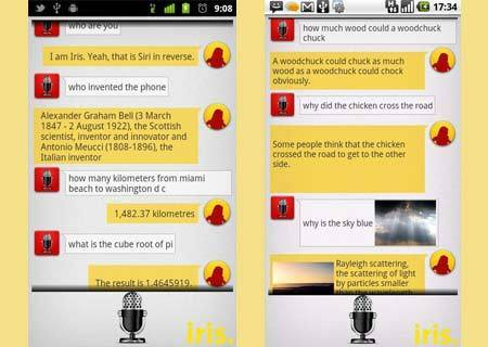 Iris for Android, Siri alternative for smartphones on the Google mobile OS - Mobiletor.com | Platform - Android | Scoop.it