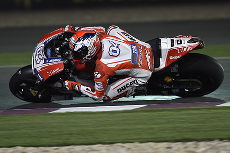 Qatar MotoGP: Andrea Dovizioso's Ducati beats Hondas to pole | Ductalk Ducati News | Scoop.it