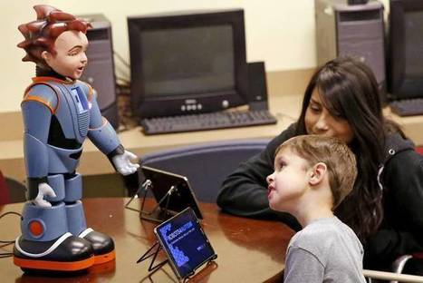 Meet Milo! A Robot 'Kid' That Excels at Teaching Social Skills to Kids With Autism — Emerging Education Technologies | ICT for Education and Development | Scoop.it