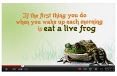 #globalclassroom Chat: Eat Your Frogs (Take 2) | Practical Networked Leadership Skills | Scoop.it