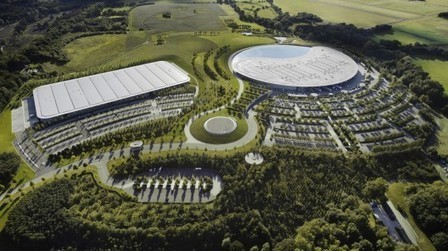 [Woking, Surrey, U.K.] McLaren Production Centre / Foster + Partners | The Architecture of the City | Scoop.it