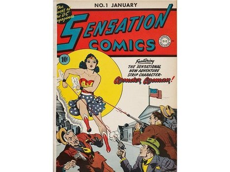The Surprising Origin Story of Wonder Woman | Studio Art and Art History | Scoop.it