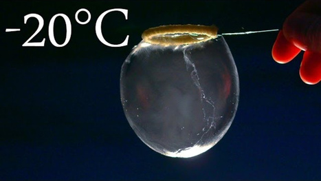 Watch Soap Bubbles Get Demolished By Frigid Winter Cold - Gizmodo | Natural Products | Scoop.it
