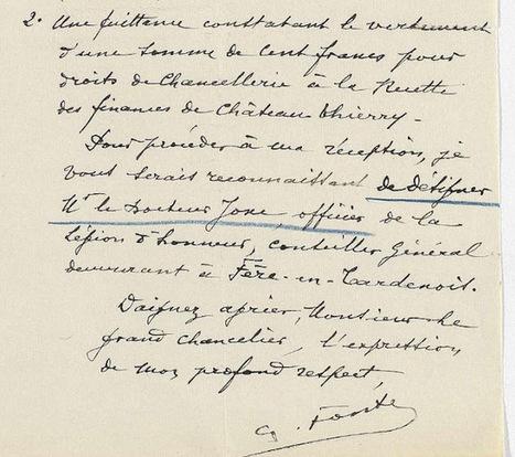 Généablogique - FONTE Charles Emile Ferdinand | Auprès de nos Racines - Généalogie | Scoop.it