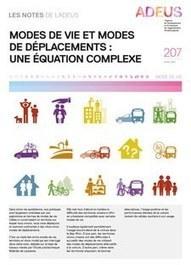 Strasbourg : Modes de vie et modes de déplacements : une équation complexe | Dernières publications des agences d'urbanisme | Scoop.it