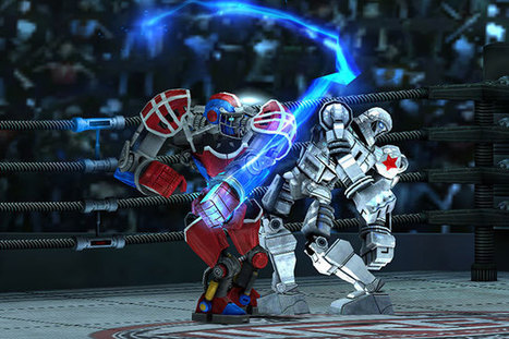 Reliance Games brings Real Steel: World Robot Boxing to iOS, Android - Inside Mobile Apps | download game android | Scoop.it