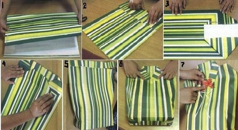 How to Wrap Gift Into a Unique Form of Dress : Personalized Gift Wrapping ~ Unique | Unique | Scoop.it