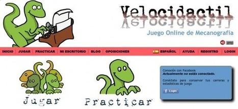 velocidactil – Un juego online para practicar Mecanografía | Prensa EduKtiva | Scoop.it