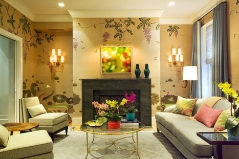 Wallpaper Designs for Your Living Room | Todays Womens | Scoop.it