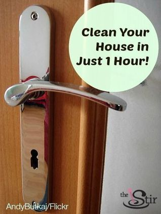 8 Steps to Cleaning Your House in Under an Hour | It's Show Prep for Radio | Scoop.it