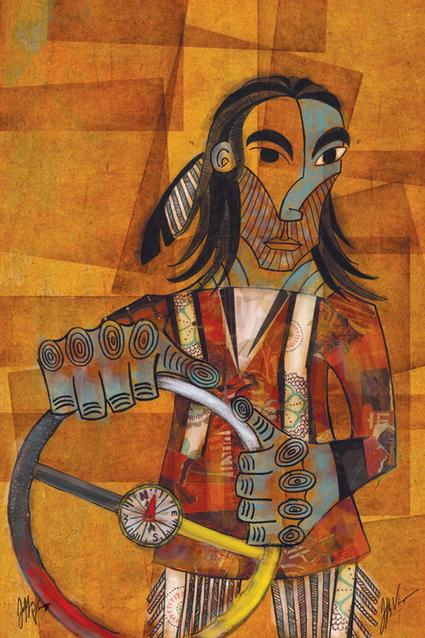 Old School - Jeffrey Veregge   Contemporary Native American Art   Scoop.it