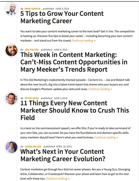 Content Marketing Careers Archives - Content Marketing Institute | Social Media in Manufacturing Today | Scoop.it