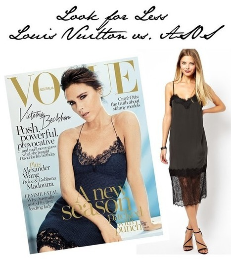 Look for Less: Victoria Beckham's Lingerie Look vs. ASOS | Vevetrois | Scoop.it