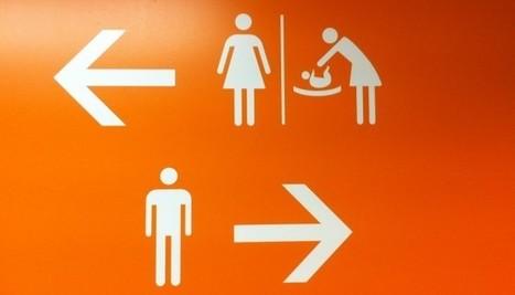 Panneau sexiste sur les toilettes à Orly : les hommes aussi doivent combattre les préjugés | Vie de Famille, Vie de Parents | Scoop.it