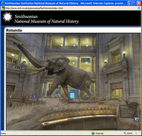 Virtual Tour: Panoramic Images: Smithsonian National Museum of Natural History | School Library | Scoop.it