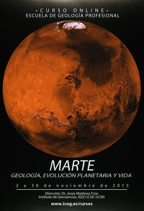 Curso online sobre Marte. Geología, evolución planetaria y vida   Las utilidades 2.0 de epampliega   Scoop.it