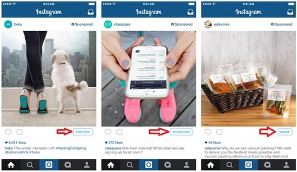 Instagram va lancer les boutons Call-to-Action dans ses publicités   Les Médias Sociaux pour l'entreprise   Scoop.it