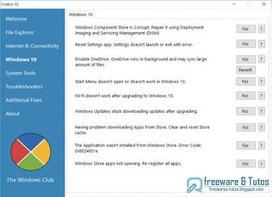 FixWin 10 : un outil gratuit pour réparer Windows 10 | Bazaar | Scoop.it