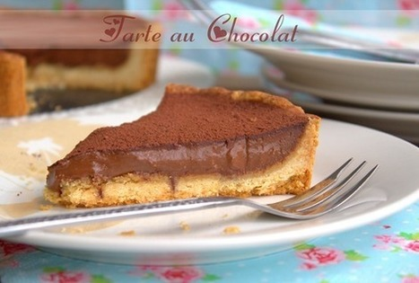 tarte au chocolat | gateaux | Scoop.it