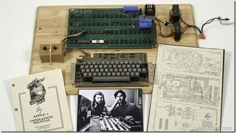 Subastan la primera computadora de Apple armada por Steve Wozniak - LeaNoticias.com | La historia del ordenador | Scoop.it