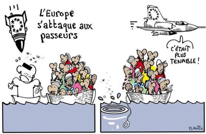 L'Europe s'attaque aux passeurs | Baie d'humour | Scoop.it