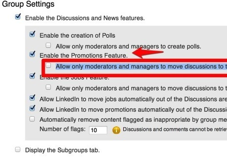 "LinkedIn Groups Updated to Fight Promotional Posts | Social Media Today | ""#Google+, +1, Facebook, Twitter, Scoop, Foursquare, Empire Avenue, Klout and more"" 