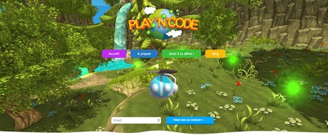 Play'n'Code : le jeu vidéo pour apprendre à coder aux enfants en s'amusant !   CDI EMI   Scoop.it