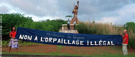 Orpaillage sur le Haut-Maroni : l'Etat est-il coupable ? | Site d'information généraliste et politique en Guyane ⎢Guyaweb | Guyane orpaillage illégal | Scoop.it