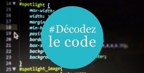 Décodez le code | Formation  aux usages innovants | Scoop.it