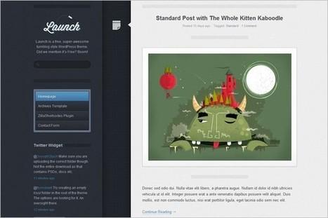 Launch is a free tumblog WordPress Theme by ThemeZilla | WP Daily Themes | Free & Premium WordPress Themes | Scoop.it
