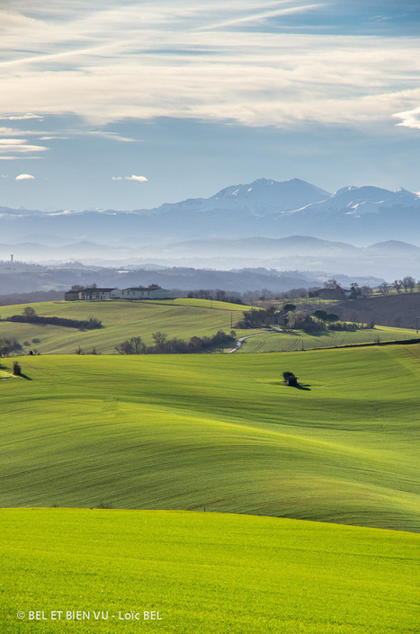 Vues d'ici.  sur les hauteurs autour de Latrape | Le Volvestre | Scoop.it