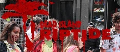 Une attaque de zombies en plein Paris   streetmarketing   Scoop.it